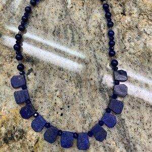 Jewelry - Lapis heavy necklace